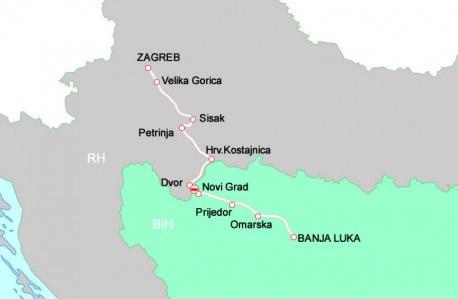 Zagreb Banja Luka Pepeks
